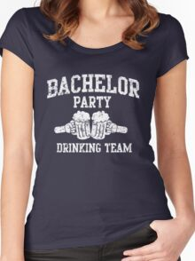 Bachelor Party Drinking Team Women's Fitted Scoop T-Shirt