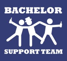 Bachelor Party Support Team by bridal