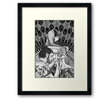 """Intervention of the space # 2"" Framed Print"