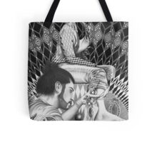 """Intervention of the space # 2"" Tote Bag"