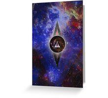 Infinite Space Greeting Card