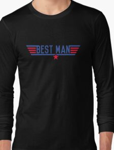 Top Best Man Long Sleeve T-Shirt