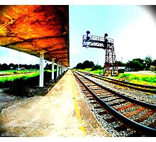 Train Station Photographic Print