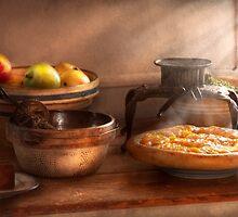 Food - Pie - Mama's peach pie by Mike  Savad