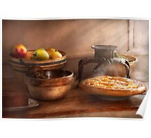 Food - Pie - Mama's peach pie Poster