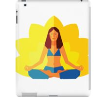 Yoga girl iPad Case/Skin