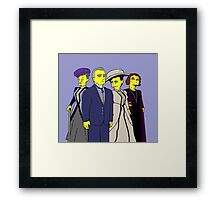 Downton Abbey Four Framed Print
