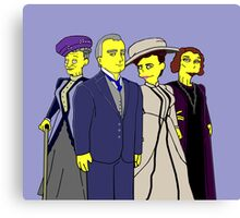 Downton Abbey Four Canvas Print