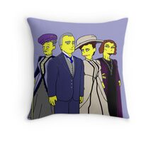 Downton Abbey Four Throw Pillow