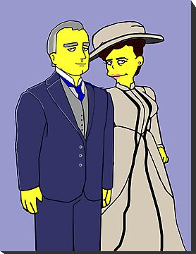 Downton Abbey - Cora and Robert by Donna Huntriss