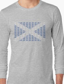 Bike Flag Scotland (Small) Long Sleeve T-Shirt