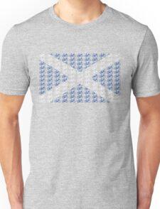 Bike Flag Scotland (Small) Unisex T-Shirt