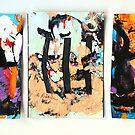Trio by Diane  Kramer
