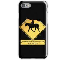 Headless Horseman case iPhone Case/Skin