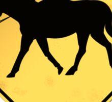 Headless Horseman case Sticker