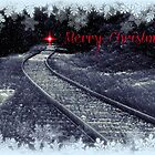 Merry Christmas - greeting card by Scott Mitchell