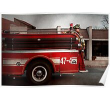 Fireman - Metuchen, NJ - Always on call Poster