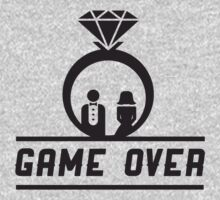 Game over Wedding Ring by bridal