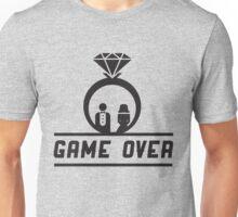 Game over Wedding Ring Unisex T-Shirt