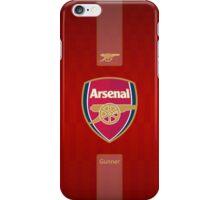 arsenal gunners london red 1 iPhone Case/Skin