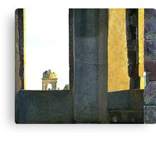 From The Ruins Of Downhill House Canvas Print