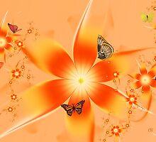Garden of Butterflies by Chazagirl