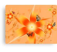 Garden of Butterflies Canvas Print