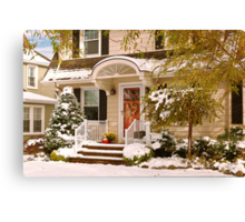 Winter - Westfield, NJ - It's too early for winter Canvas Print