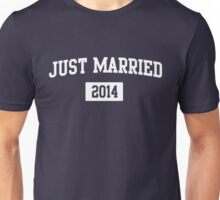 Just Married 2014 Unisex T-Shirt