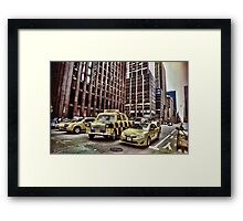 Toy Airport Taxi Framed Print