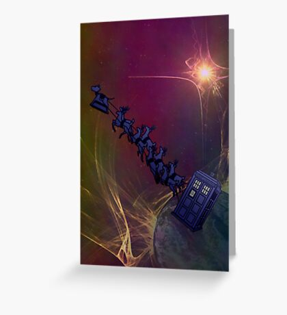 Doctor's Sleigh Greeting Card
