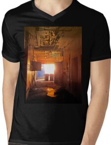 Industrial Decay Mens V-Neck T-Shirt