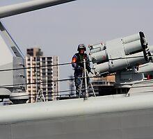 On duty, 113 Qingdao by Ian Ramsay