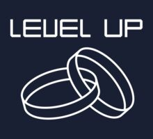 Level Up Wedding Rings by bridal