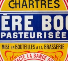 Vintage French Beer Advertisment Sticker