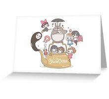 Studio Ghibli Friends Greeting Card