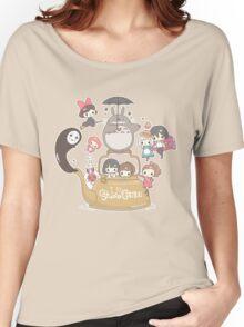 Studio Ghibli Friends Women's Relaxed Fit T-Shirt