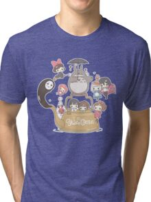 Studio Ghibli Friends Tri-blend T-Shirt