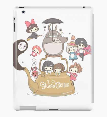 Studio Ghibli Friends iPad Case/Skin
