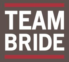 Team Bride - Red Lines Kids Clothes