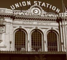 Denver - Union Station Sticker