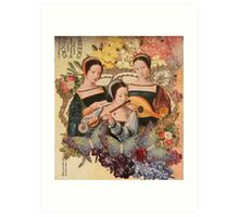 Hope, Love and Play Art Print
