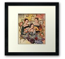 Hope, Love and Play Framed Print
