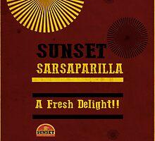Sunset Sarsaparilla Phone Case by Kenneth White