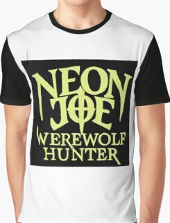 Neon Joe Werewolf Hunter Graphic T-Shirt