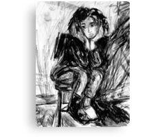 Chugga_Booties Canvas Print