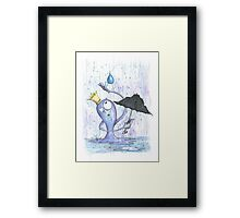 Rain King Framed Print