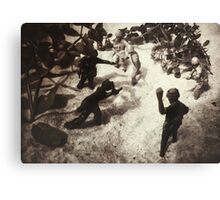Toy Soldiers Canvas Print