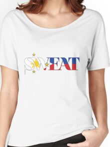 Sweat for the Philippines! Women's Relaxed Fit T-Shirt