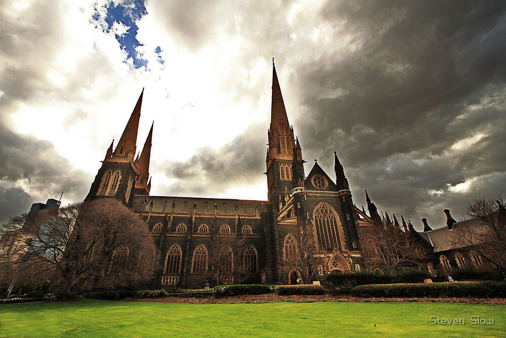 St. Patrick's Cathedral by Steven  Siow